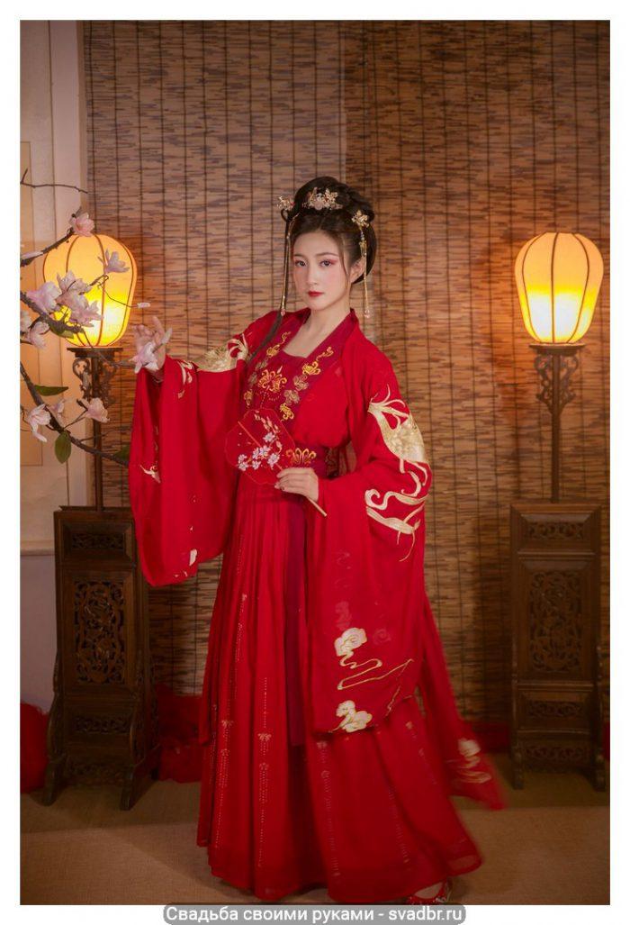 H5f9b0672a9ab418885e3459b2f6d1395f - Свадьба своими руками - Традиционная китайская свадебная одежда (фото)