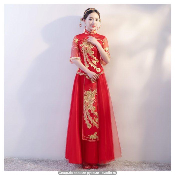 HTB1r97BcHorBKNjSZFjq6A SpXaq - Свадьба своими руками - Традиционная китайская свадебная одежда (фото)