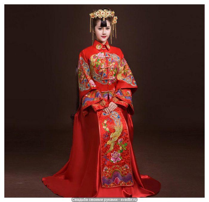 Prazdnichnyj kitajskij naryad - Свадьба своими руками - Традиционная китайская свадебная одежда (фото)