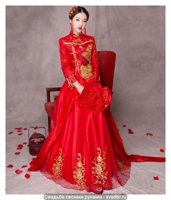 Snimok - Свадьба своими руками - Традиционная китайская свадебная одежда (фото)