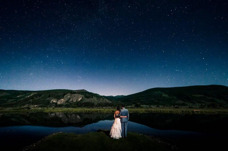 Starlight Wedding Photo at Camp Hale 1 - Как организовать свадьбу своими руками | Пошаговое руководство