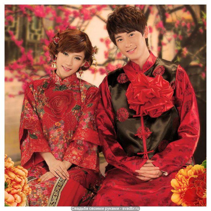 Traditsionnye kitajskie naryady - Свадьба своими руками - Традиционная китайская свадебная одежда (фото)