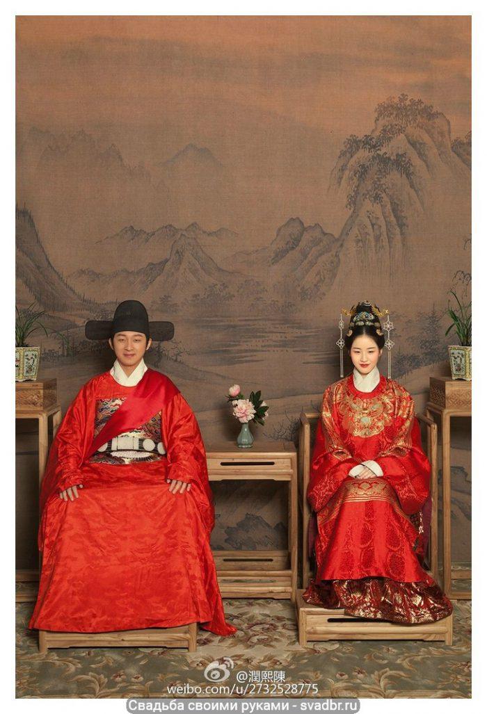 d - Свадьба своими руками - Традиционная китайская свадебная одежда (фото)