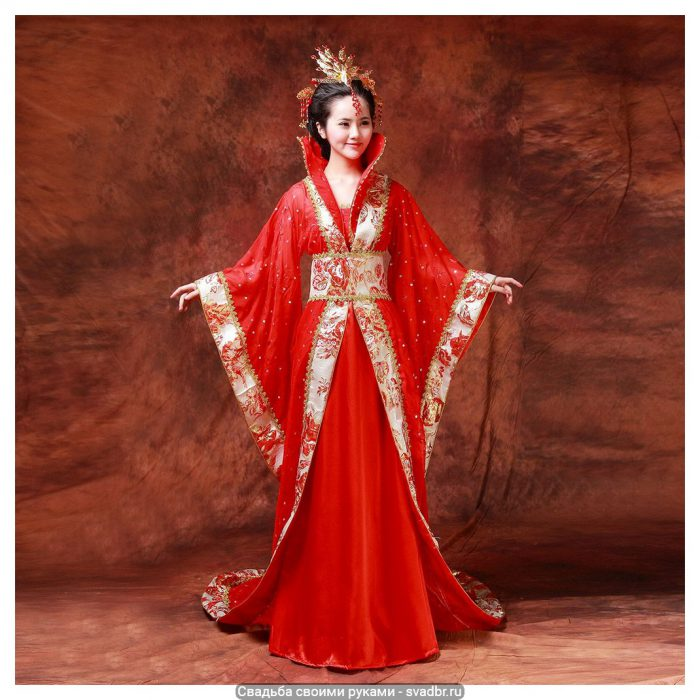 f - Свадьба своими руками - Традиционная китайская свадебная одежда (фото)