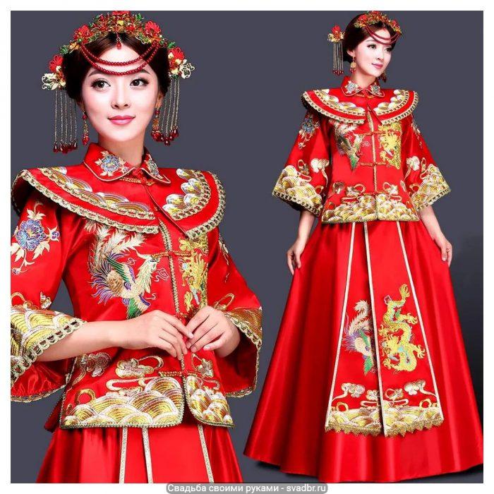 f98cd19ebd6b7ccadd9e54da9ca9bc1286a5ec1c hq - Свадьба своими руками - Традиционная китайская свадебная одежда (фото)