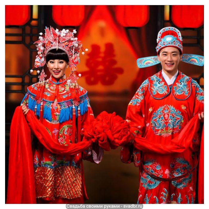 p - Свадьба своими руками - Традиционная китайская свадебная одежда (фото)