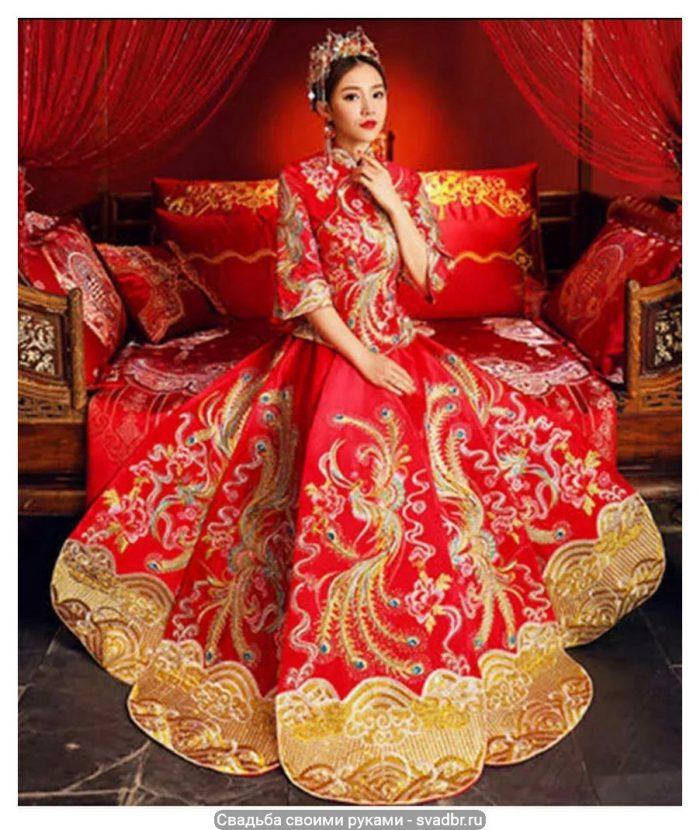 pk 1 - Свадьба своими руками - Традиционная китайская свадебная одежда (фото)