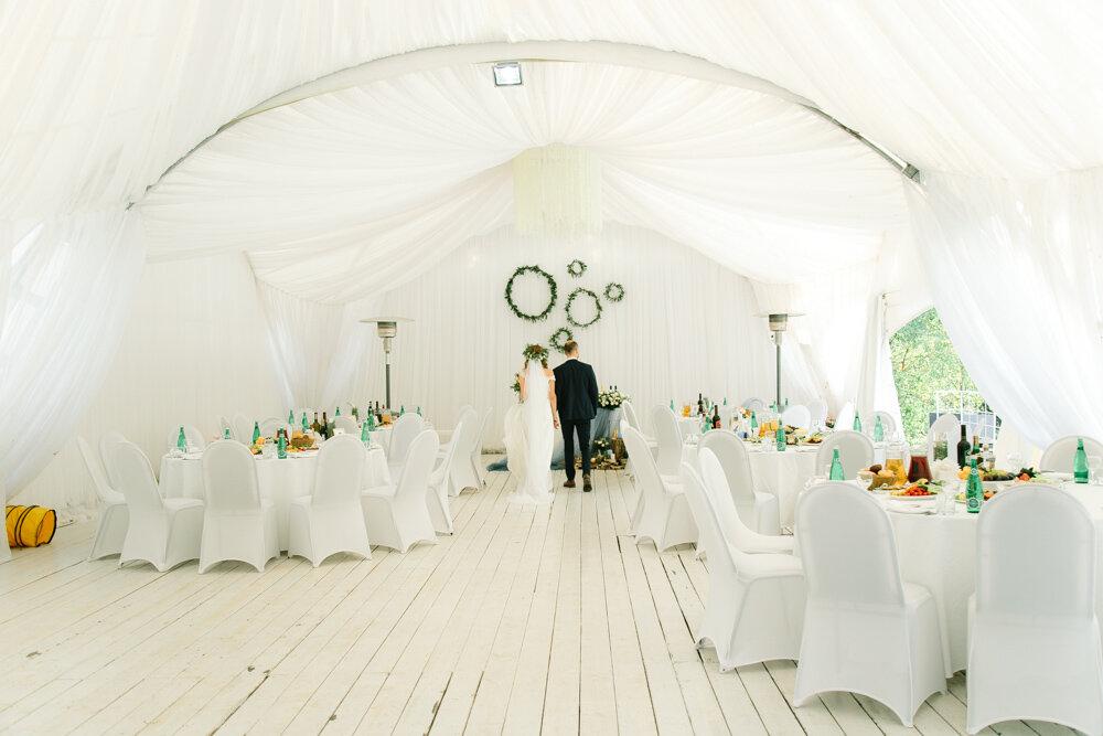 Свадьба в шатре - отличное решение для летнего торжества