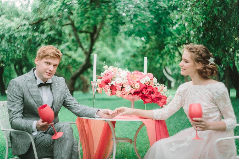 Свадебная фотосъемка на пленку