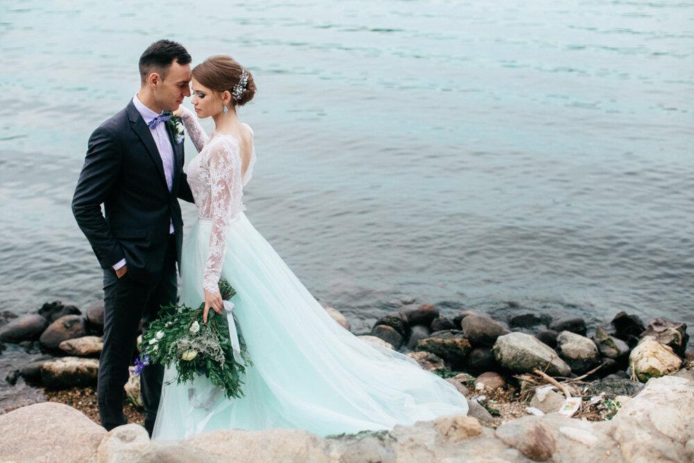Свадьба в оттенках голубого