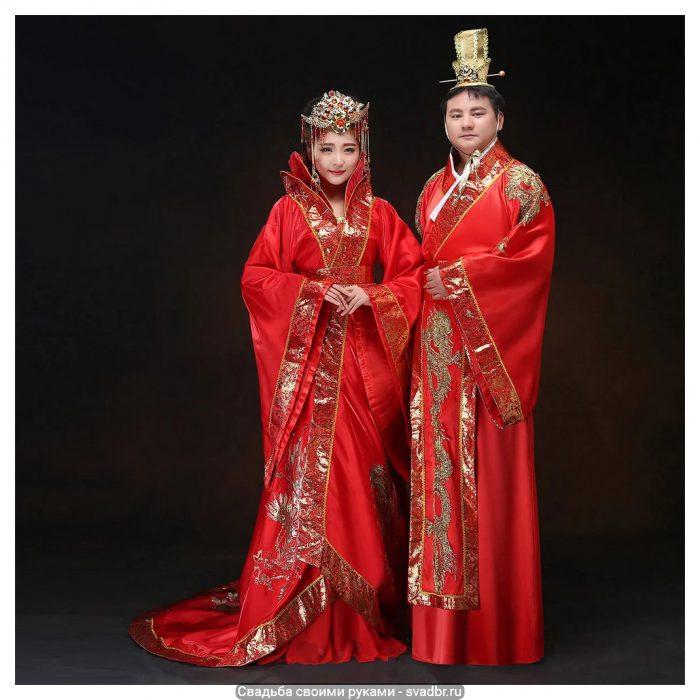 scale 1201 - Свадьба своими руками - Традиционная китайская свадебная одежда (фото)