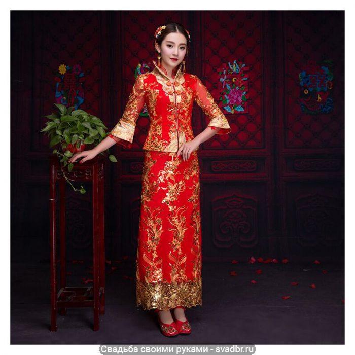 shh - Свадьба своими руками - Традиционная китайская свадебная одежда (фото)