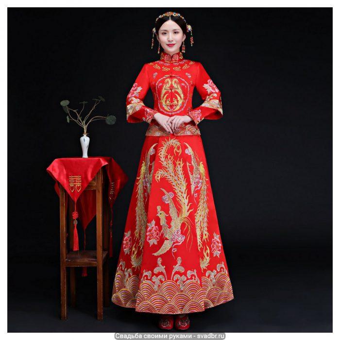 unnamed file - Свадьба своими руками - Традиционная китайская свадебная одежда (фото)