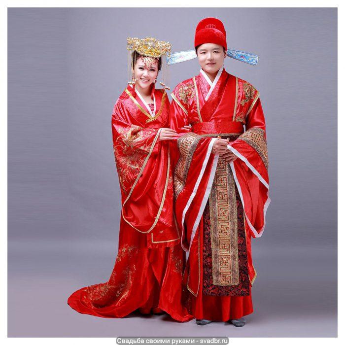 uy - Свадьба своими руками - Традиционная китайская свадебная одежда (фото)